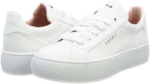 Bianco Lu Da Barbie Scarpe Ginnastica Basse Donna Esprit white 0Rq54xw5