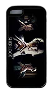 The sherlock movie case cover for iphone 5c tpu black