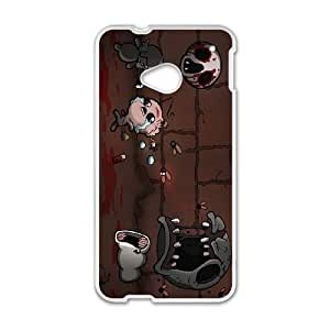 HTC One M7 Cell Phone Case White The Binding of Isaac Rebirth ISU569351