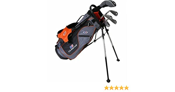 US Kids 2017 Golf Ultra Light, 5 Club Soporte Juego de Golf con Bolsa (51 cm)