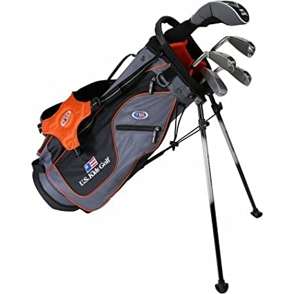 Amazon.com: U.S. Kids 2017 Golf Ultra luz, 5 Club Soporte ...