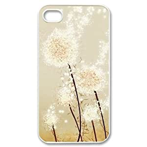 New Brand Case for iPhone 4, iPhone 4s w/ Dandelion image at Hmh-xase (style 1)