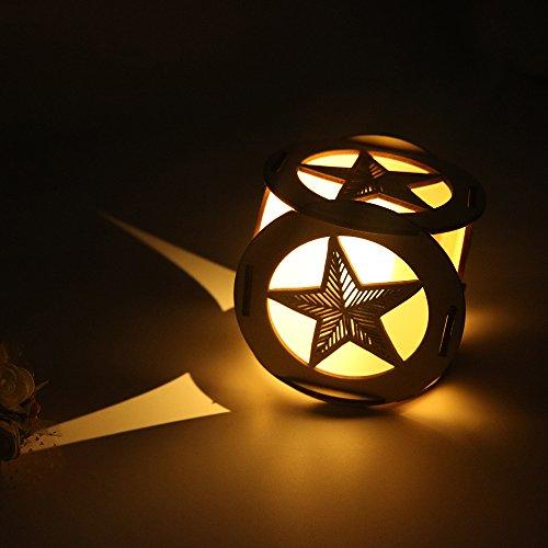 Wooden Garden Lighting - 3