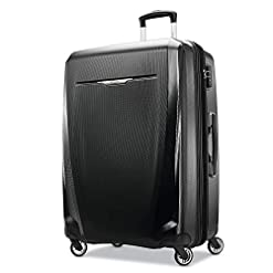 Travel Junkie 41go8B3UX-L._SS247_ Samsonite Winfield 3 DLX Hardside Expandable Luggage with Spinners, Black