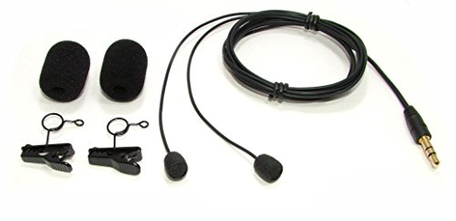 (Mini Binaural Microphones w/ Windscreens &)