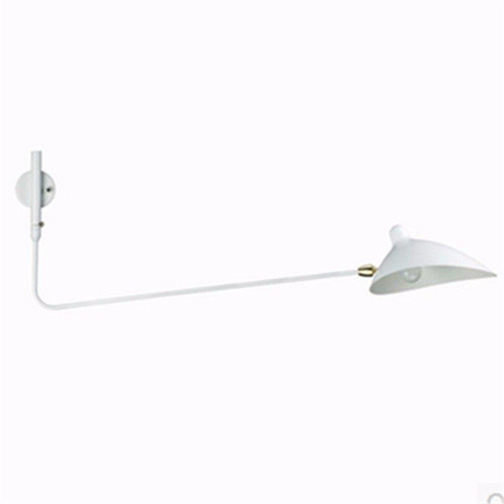 Avanthika E27 Wall Sconces Mounted Wall Lamps Retro Loft-Bluetooth Dance Claw Wall Lamp Pole Swing Duckbill Wall Lamp