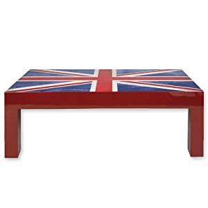 Table Drapeau Anglais Londres Deco Londres