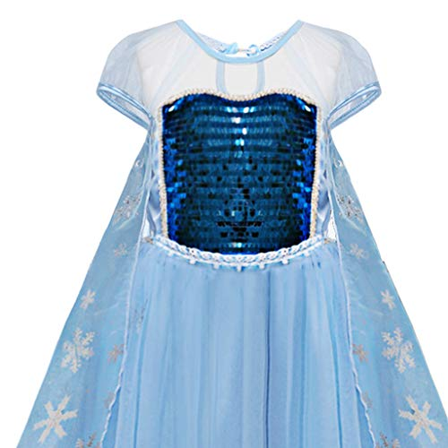 ❤️ Mealeaf ❤️ Child Girls Kid Lace Princess Wedding Performance Cosplay Costume Dress Clothes(12m-7y)