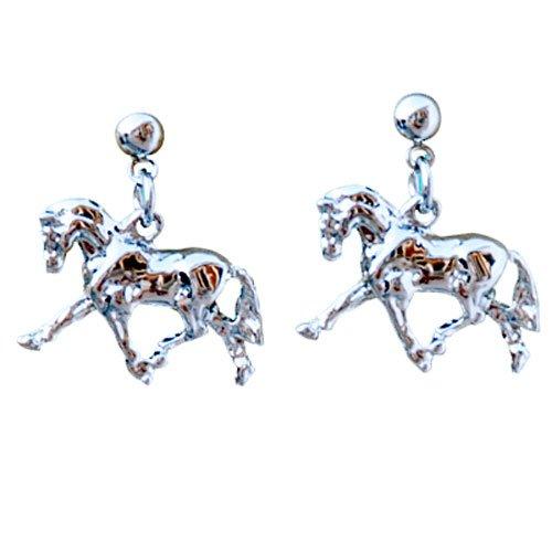 Intrepid International Dressage Platinum Earrings product image