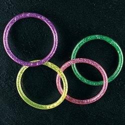 water glitter bracelets