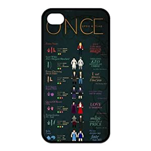the Case Shop- Once Upon A Time TV Show TPU Rubber Hard Back Case Silicone Cover Skin for iPhone 4 and iPhone 4S , i4xq-495