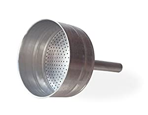 Cuisinox FUN-L10 10 Cup Stainless Steel Replacement Funnel for The Liberta and Bella Espresso Coffeemakers, Silver by Cuisinox