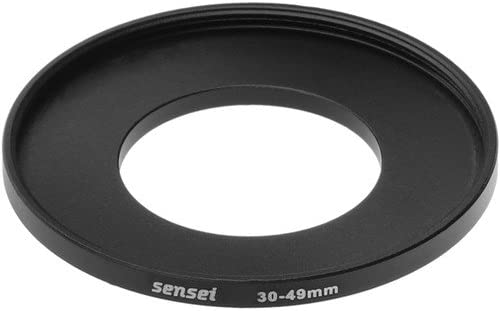 4 Pack Sensei 30mm Lens to 49mm Filter Step-Up Ring