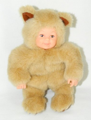 "Baby Bears by Anne Geddes 8"" Plush Doll Bean Filled Collection"