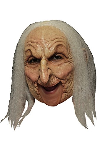 - Ghoulish Productions Old Witch Deluxe Mask