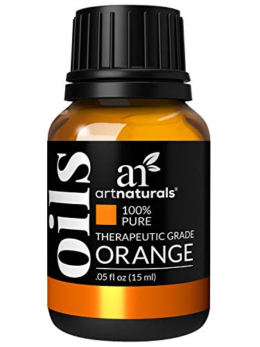ArtNaturals 100% Pure Sweet Orange Essential Oil - (.5 Fl Oz / 15ml) - Undilued Therapeutic Grade - Cleanse Uplift and Focus