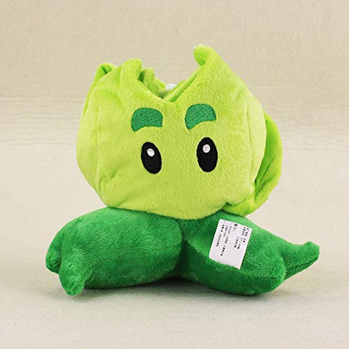 RAFGL 14Cm Plants Vs Zombies Soft Plush Toy Doll PVZ Cabbage-Pult Plush Sucker Pendant Stuffed Doll Must Have Gifts 7 Year Old Girl Gifts Toddler Favourite Superhero Stickers Unboxing Box (Wii Games Plants Vs Zombies)