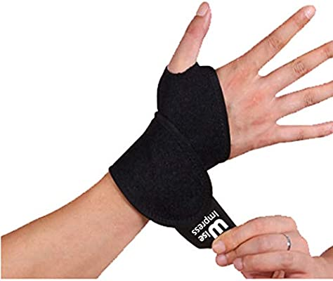 Black Wod Wraps Fitness Wrist Wraps CrossFit wod lifting blank wraps