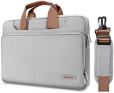MOSISO Protective Compatible Polyester Briefcase