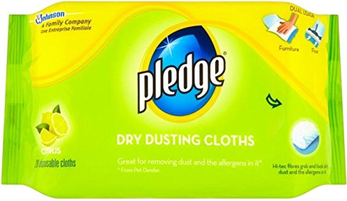 Pledge Dusting Cloths Citrus Fresh (20) ()