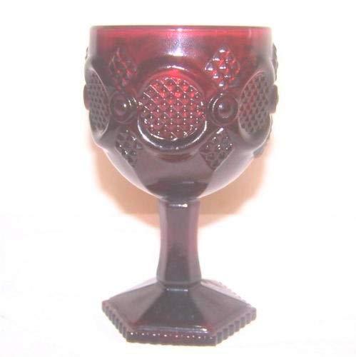 Avon 1876 Water Goblet - Ruby Pattern