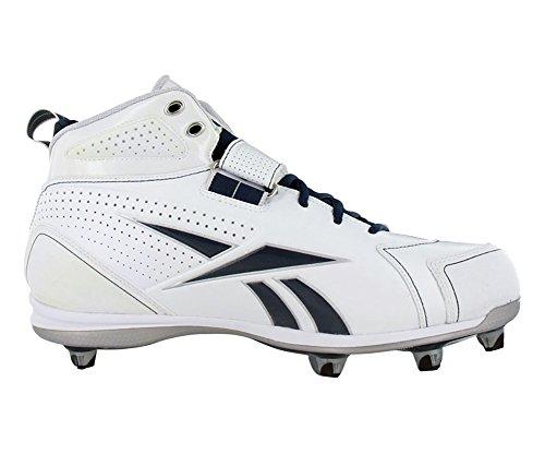 Reebok Pro Thorpe III Hex Mens Football Shoes White/Navy 7wSBrd
