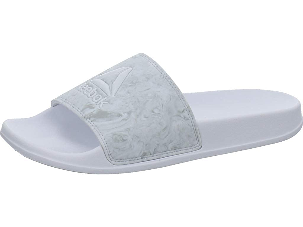 White-Grey Reebok - Fulgere Slide - CN6471