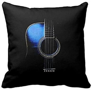 Amazon Com Babyssj Reversible Acoustic Guitar Throw Pillows Custom Throw Pillow Case Home Kitchen