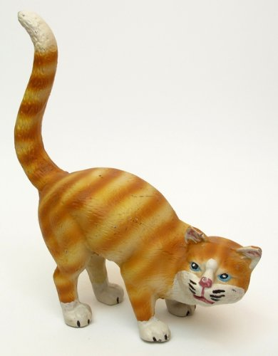 - Iwgac Home Decorative Accent Large Cast Iron Cat Door Stop Yellow Tabby