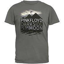 Pink Floyd - Dark Side Pyramids Soft Grey T-Shirt