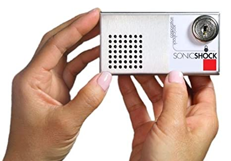 Sonic Shock 4 Video and Computer Anti-theft Alarm