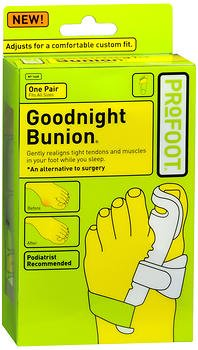 ProFoot Goodnight Bunion - 1 pair, Pack of 5