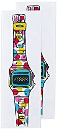 Tattly Temporary Tattoos, Party Watch, 0.1 Ounce