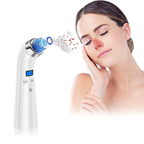 Blackhead Remover Vacuum, Shirui Electric Pore Vacuum Cleaner Blackhead Extractor Tool Device Comedo Removal...
