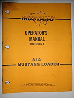 mustang owners manual online