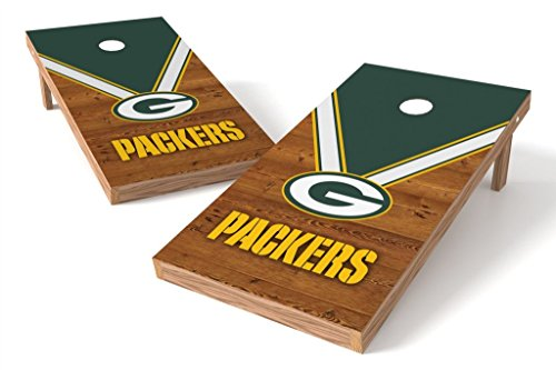 PROLINE NFL 2'x4' Cornhole Board Set - Uniform Design, Green Bay Packers -
