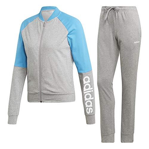4211374e4a Cyan Grey white Adidas Medium Heather Donna New Tuta shock Wts Mark Co  Ax7v1fxw
