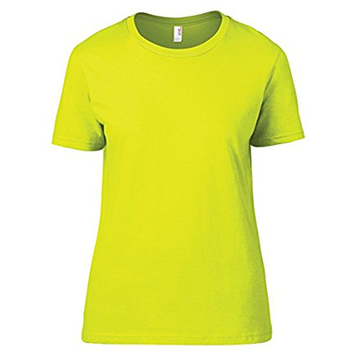 Anvil - Camiseta - para mujer Neon Yellow