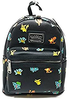 9a03d08ece07 Loungefly X Pokemon Pikachu AOP Mini Backpack in Blue Yellow  Amazon ...