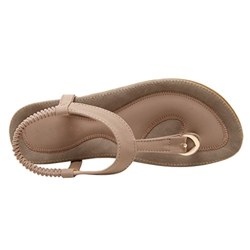 Ankle Flip Sandals Slingback Dear Women Flop T Strap Pink Time Strap Thong vq0pq6