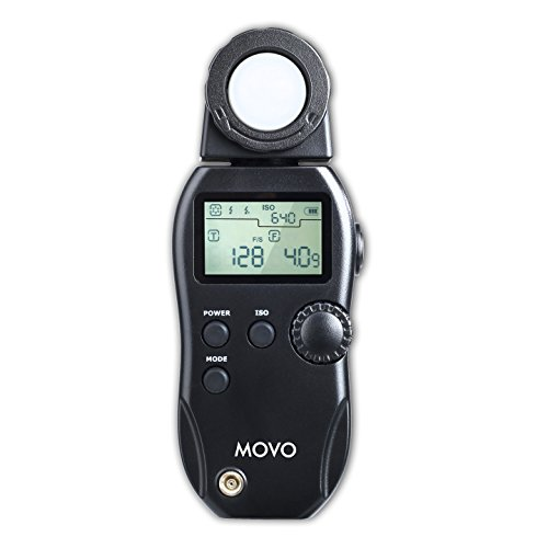 Movo LM200 Digital Photographic Light Meter for Ambient & Fl