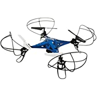 Sky Rider Metal Alloy Drone Quadcopter with Wi-Fi Camera & Extra Battery