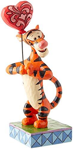 Enesco 4059747 Disney Traditions by Jim Shore Tigger Heartstrings Figurine, 7.63