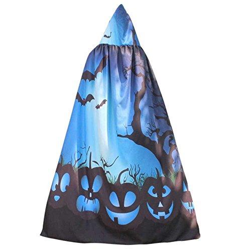 Halloween Women Cloak KIKOY Novelty Pumpkin Print Cape Scarf Poncho Shawl Costume for $<!--$2.99-->