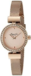 Kenneth Cole New York Women's 10022304 Classic Rose Gold-Tone Stainless Steel Watch