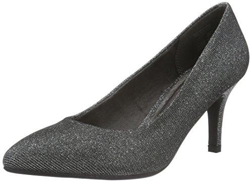 Jane Klain Women's Pumps Closed Toe Heels Silver (910 Silver) SW2SpL