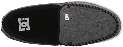 DC Shoes Mens Villain TX Slip On Sneaker Shoes Black 12
