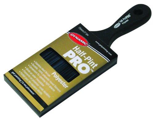 ダイナミックHalf Pint Proポリエステルフラットサッシペイントブラシ 3 Inch HB206007 1の商品画像