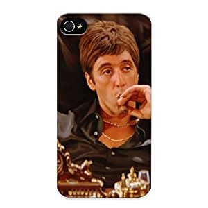 Standinmyside Premium Protective Hard Case For Iphone 4/4s- Nice Design - Scarface