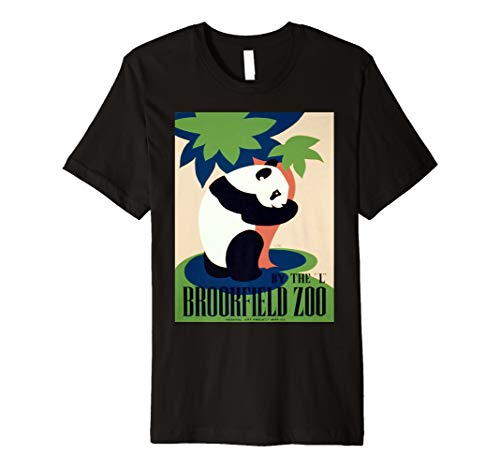 Vintage poster - Brookfield Zoo Retro T-Shirt -